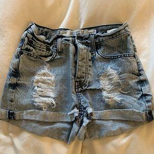 Brandy Melville Jean Shorts